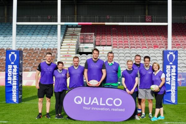 Qualco UK celebrates World Mental Health Day in partnership with Harlequins at The Stoop
