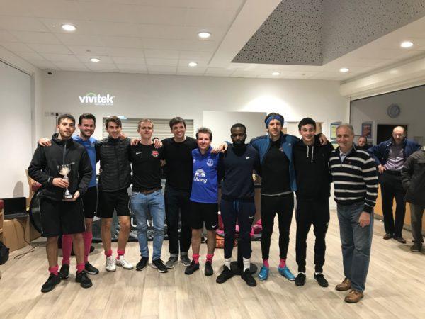 Qualco UK's inaugural charity football tournament raises £1,700