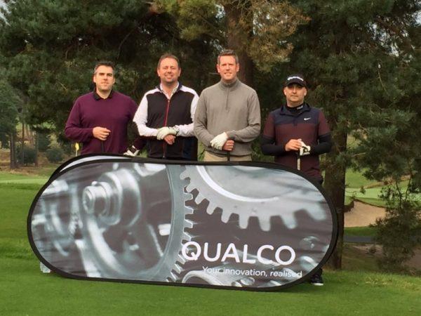 Qualco UK golf day raises £1,300 for Princess Alice Hospice