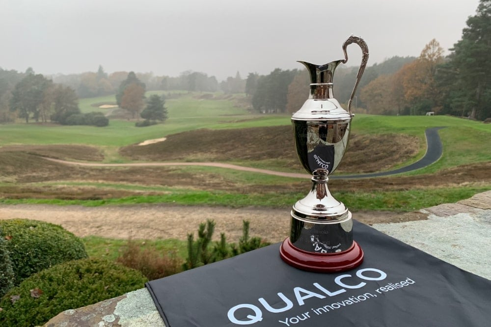Qualco UK golf tournament