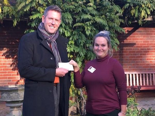 Qualco UK raises over £1,400 for local charities