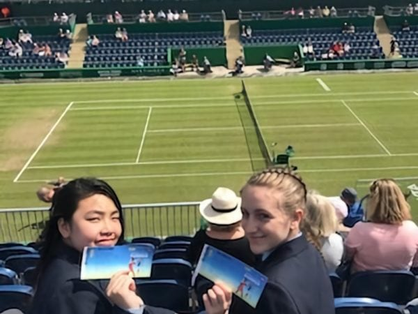 Qualco UK continues its tennis lending library support