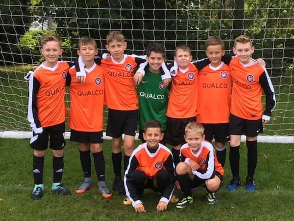 Qualco UK kits out local youth football team