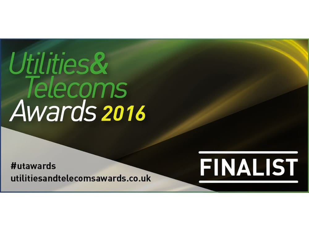 Qualco shortlisted at Utilities & Telecoms Awards 2016